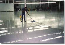 Industrial Floor Cleaning -  Steam Canada